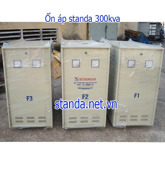 Đây là ổn áp Standa 300kVA hàng chính hãng của Công ty