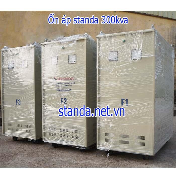 Ổn Áp Standa 300kVA Input 260V-430V Output 380V