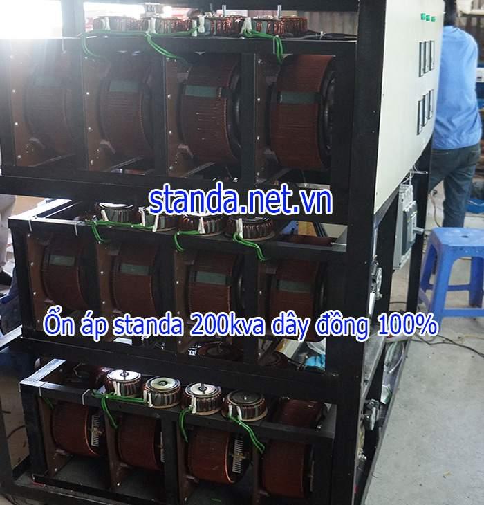 Ổn áp standa 200kva 3F-Máy đặt hàng
