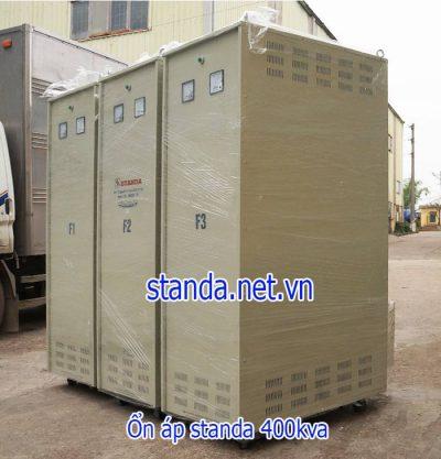 Ổn áp standa 400kva dải 260v-430v-điện ra 380v