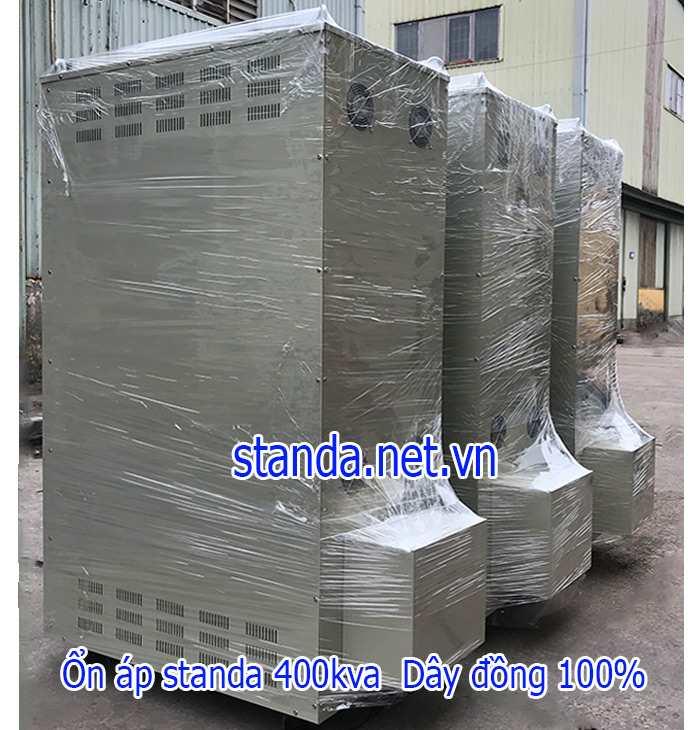 Ổn áp standa 400kva dải 304v-420v điện ra 380v