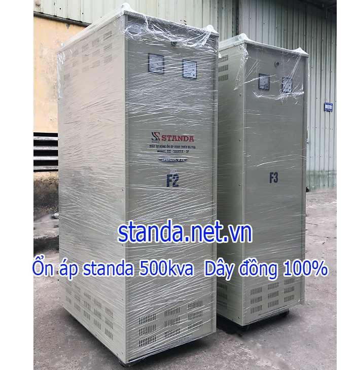 Ổn áp Standa 500kva 3 pha chính hãng của Công ty