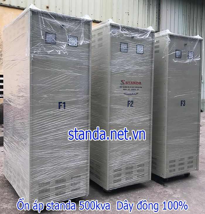Ổn áp Standa 500kVA 3 pha dải 260V-430V