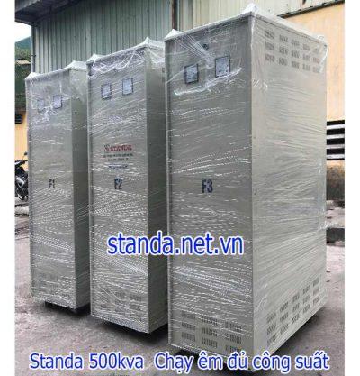 Ổn áp Standa 500kVA dải 304V-420V