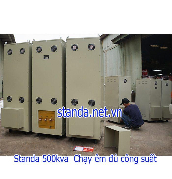 Ổn áp Standa 500kVA Input 260V-430V Output 380V