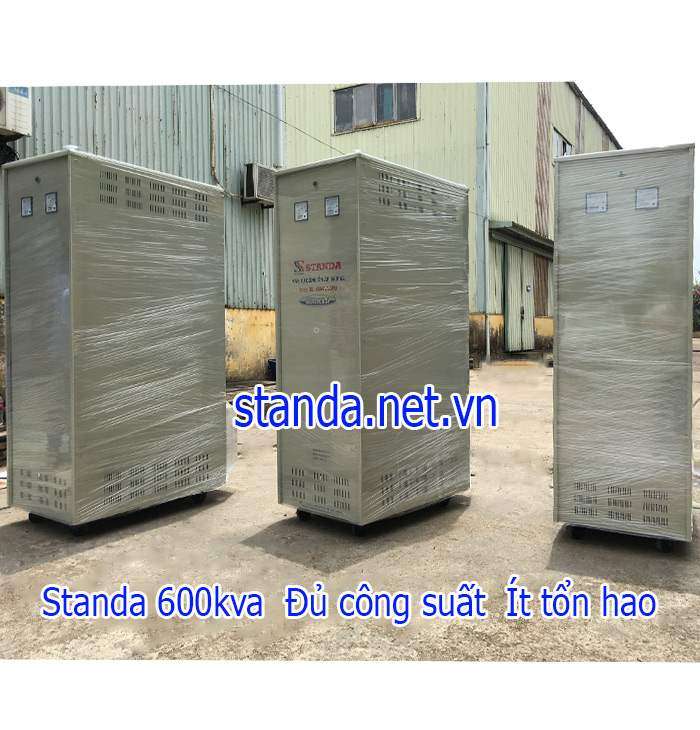 Ổn áp Standa 600kVA dải 260V-430V