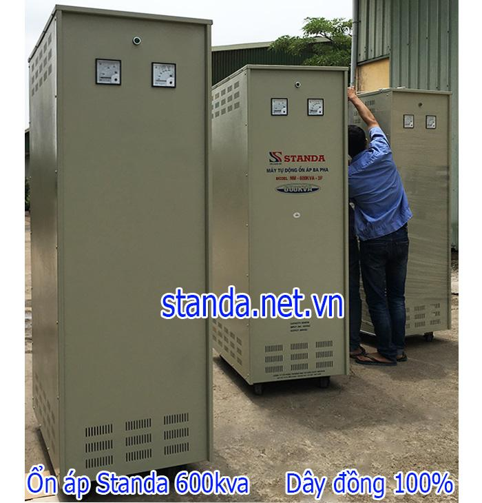 Ổn áp Standa 600kVA dải 304V-420V