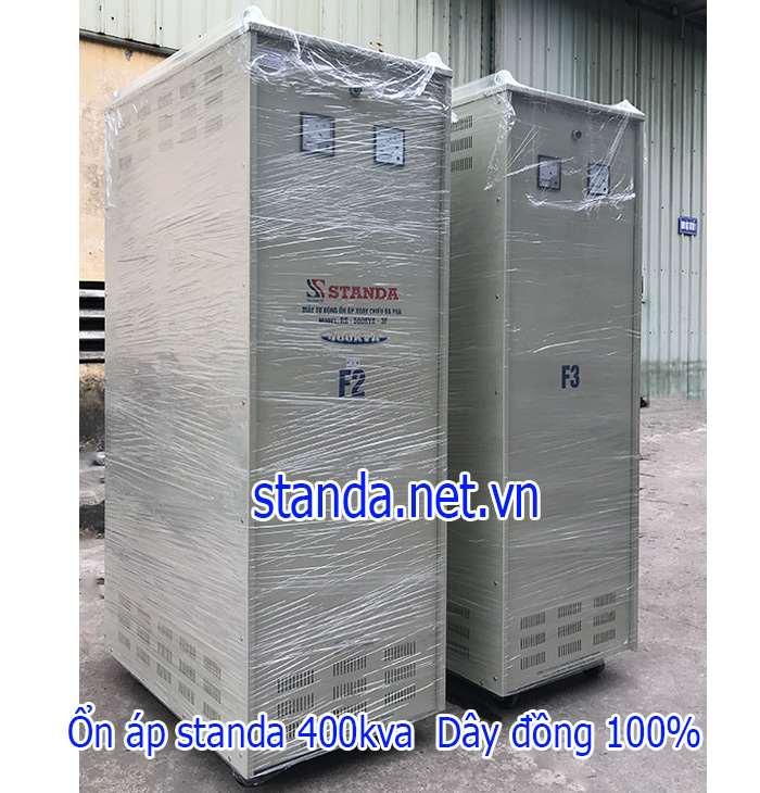 Standa 400kVA 3 pha dải 260v-430v chính hãng của Công ty