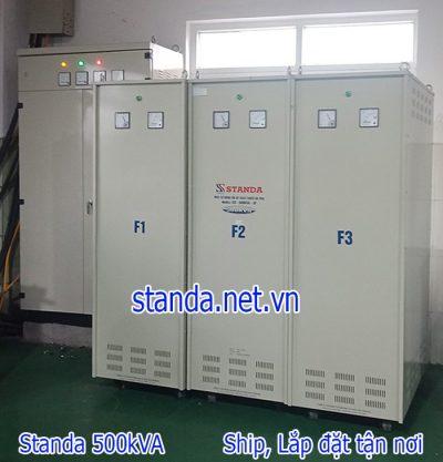 Standa 500kVA 3 pha hàng chính hãng của Công ty