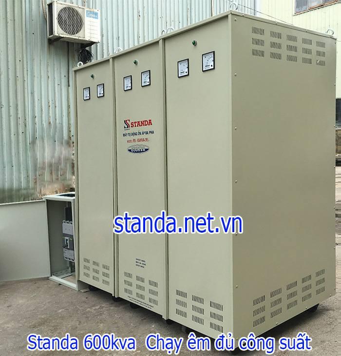 Standa 600kVA 3 pha dải 260V~430V