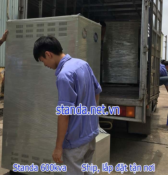 Standa 600kva 3 pha hàng chính hãng của Công ty