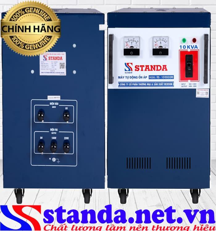 Ổn áp Standa 10kva dải 50v-250v được người dùng đánh giá cao về chất lượng