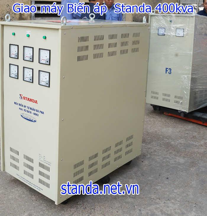 Biến áp 400kva hạ áp 380v-220v-200v hàng chuẩn của Công ty