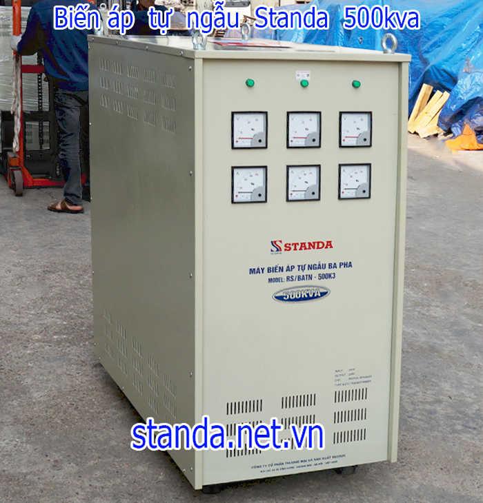 Biến áp tự ngẫu standa 500kva-Hàng chuẩn của Công ty