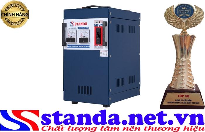 hình ảnh ổn áp 5kva standa chính hãng điện áp 150V