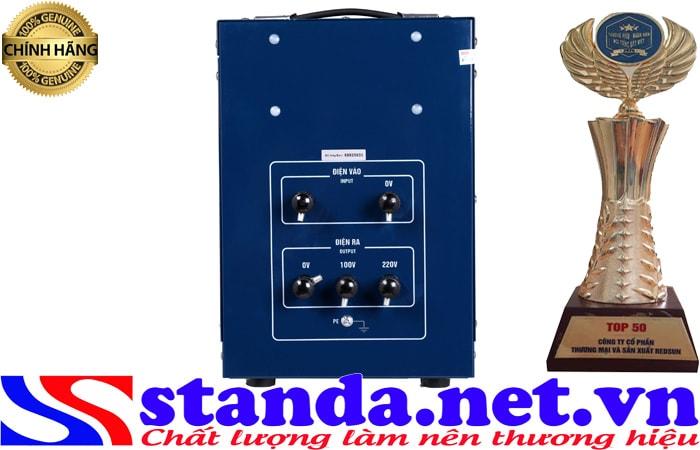 ổn áp standa 5kva điện áp 150V-250v chính hãng