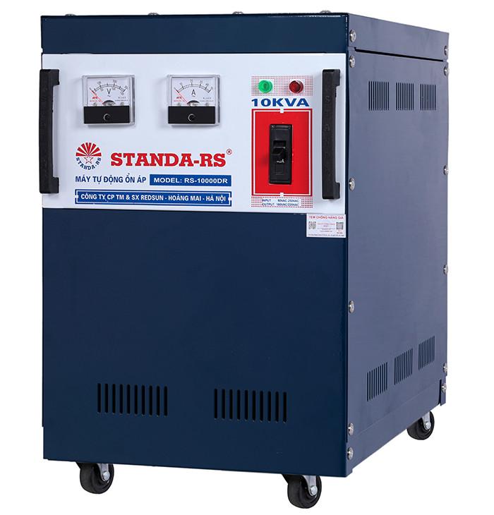 Ổn áp standa-rs 10kva dải 90v-250v