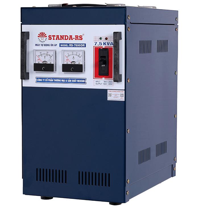 Ổn áp standa-rs 7-5kva dải 90v-250v