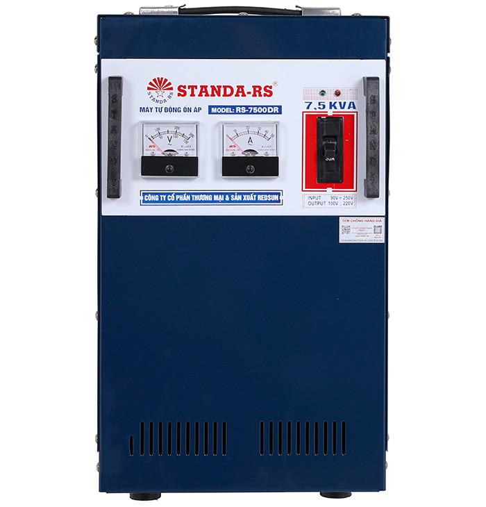 Ổn áp standa-rs 7-5kva dải 90v