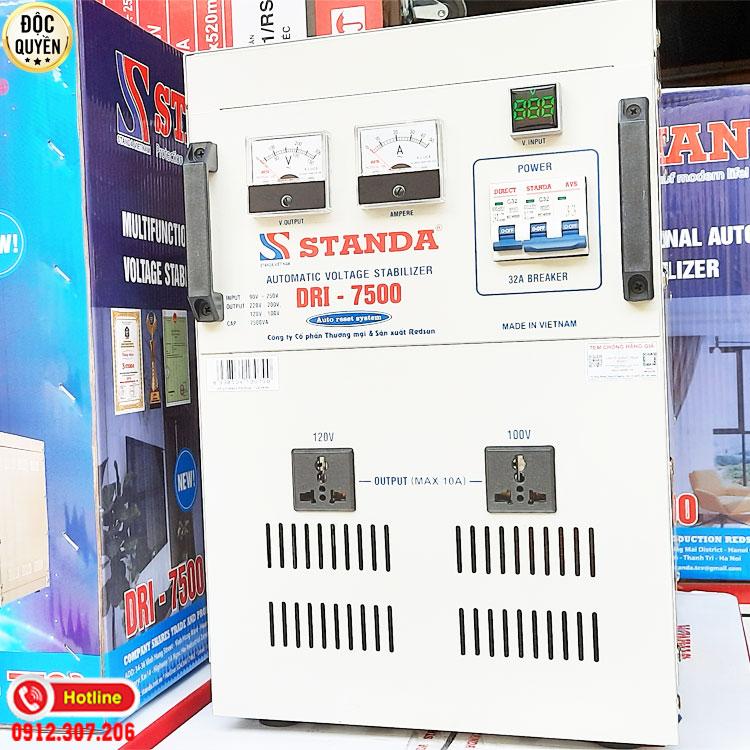 Máy ổn áp đa chức năng 7.5KVA điện áp 90V - Standa chính hãng