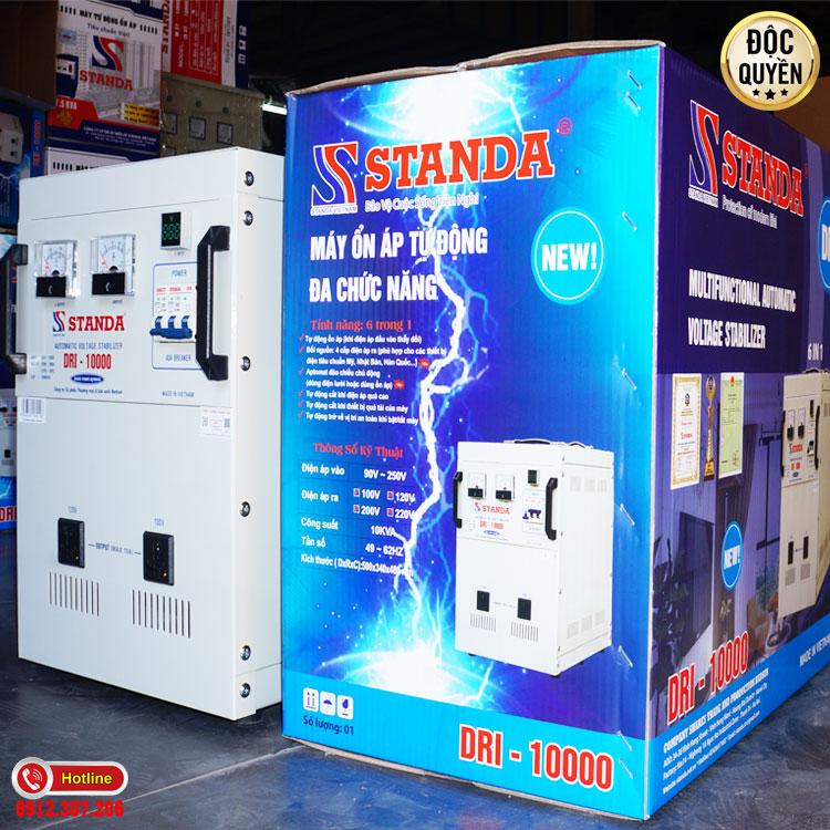 Công dụng của máy ổn áp tự động đa chức năng thế hệ mới standa 10kva dải 90v