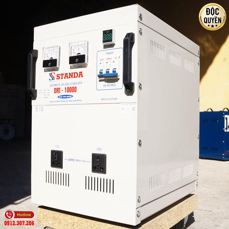 máy tự động ổn áp đa chức năng thế hệ mới STamda 10KVA DRI