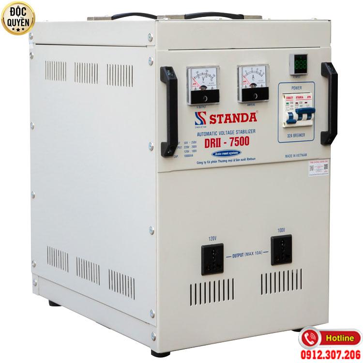 Máy tự động ổn áp Standa 7.5KVA điện áp 50V