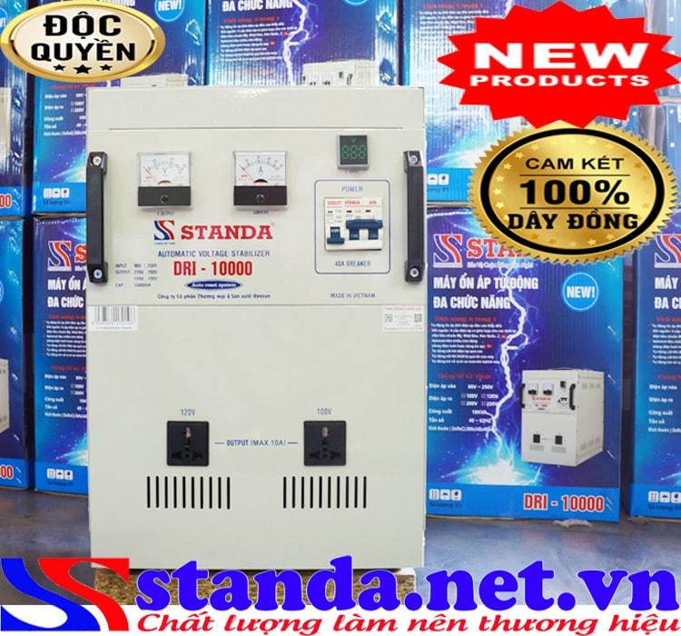 Ảnh đặc điểm máy tự động ổn áp đa chức năng Standa 10kva điện áp 90V
