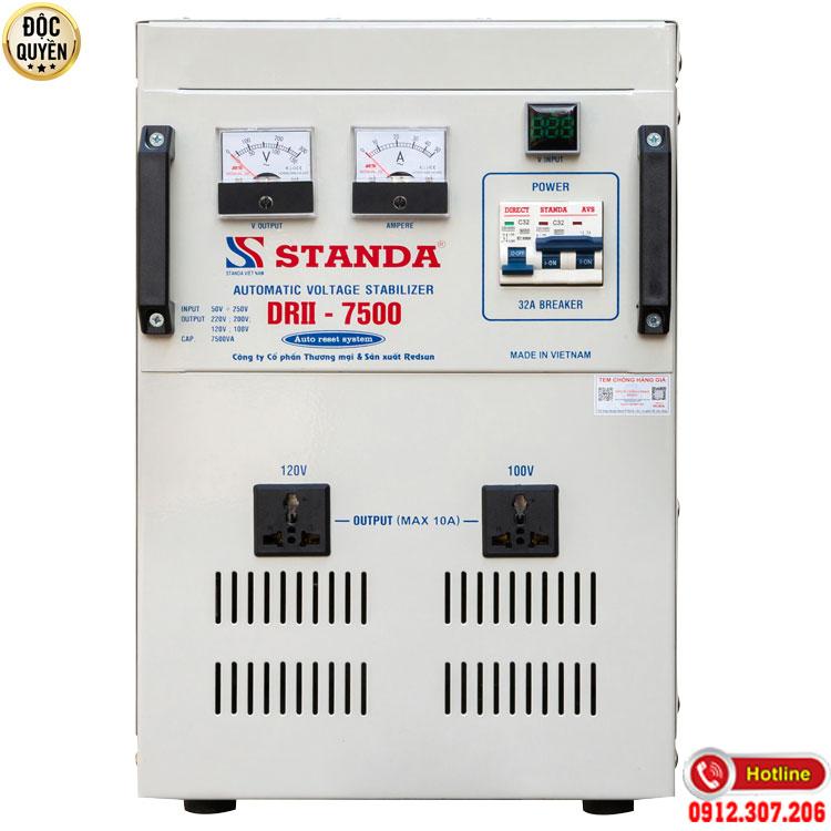Máy ổn áp tự động đa chức năng Standa 7.5KVA