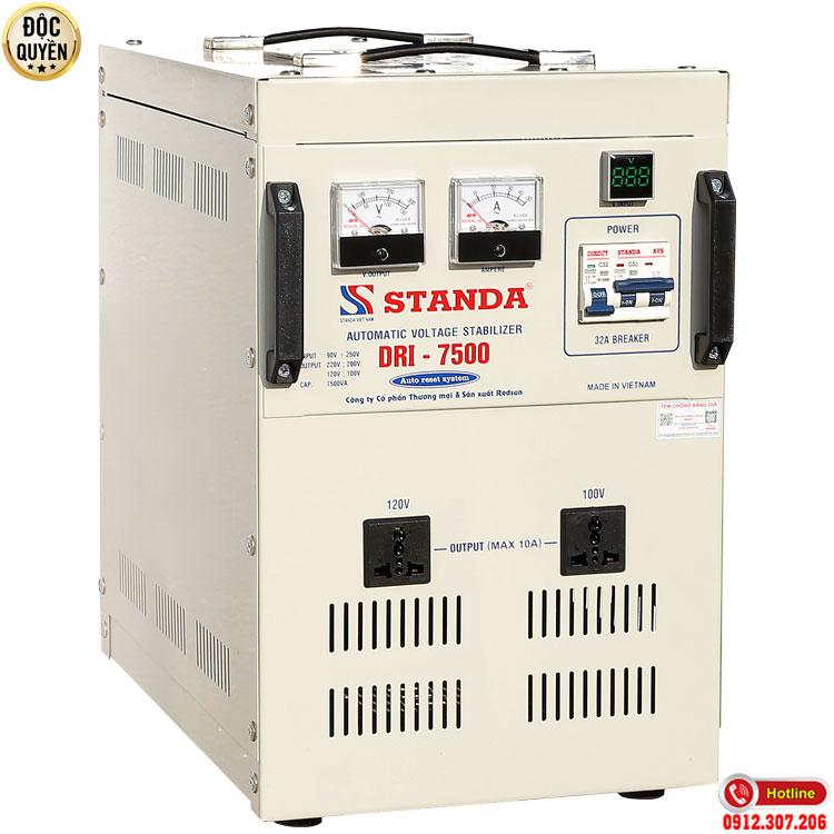 Hình ảnh máy tự động ổn áp đa chức năng Standa 2021 - Ổn áp standa 7.5KVA điện áp 90V