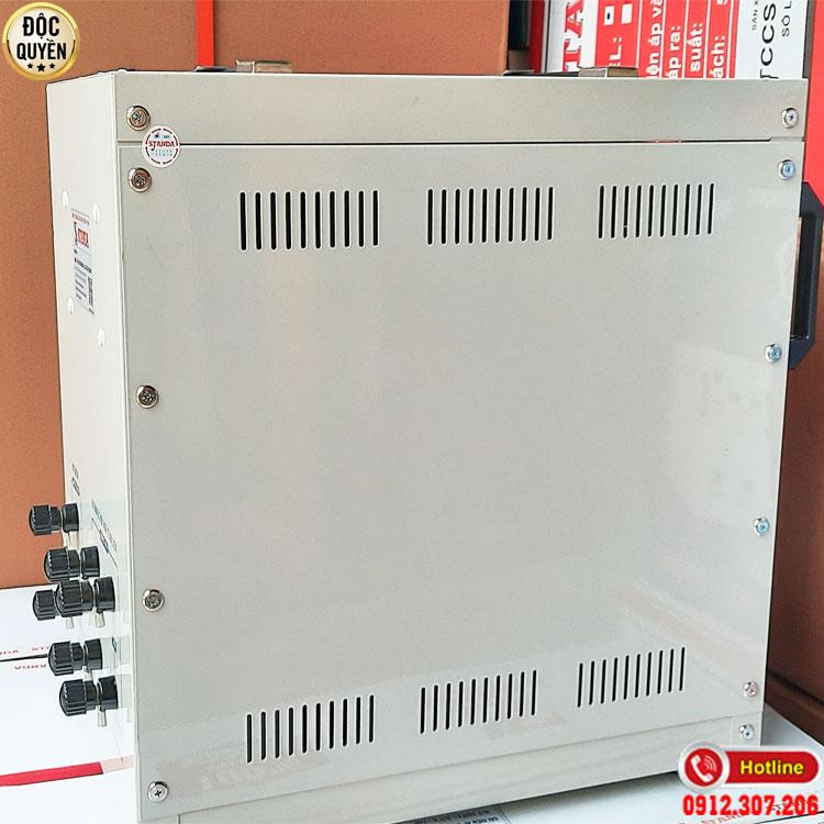 Ổn áp Standa 7.5KVA điện áp 90V chính hãng
