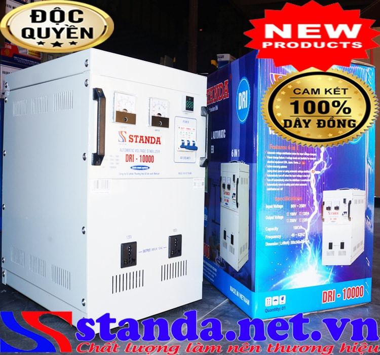 Công dụng của máy tự động ổn áp đa chức năng standa 10kva dải 90v