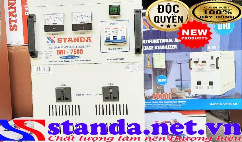 Máy ổn áp tự động đa chức năng Standa 7.5KVA dải 90V