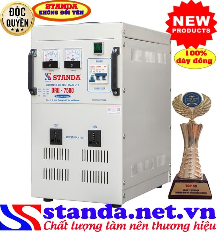 ổn áp standa 7.5KVA DRII (50V-250V)