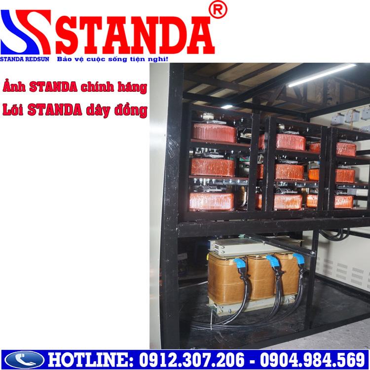 Hướng dẫn khách hàng phân biệt ổn áp Standa thật giả