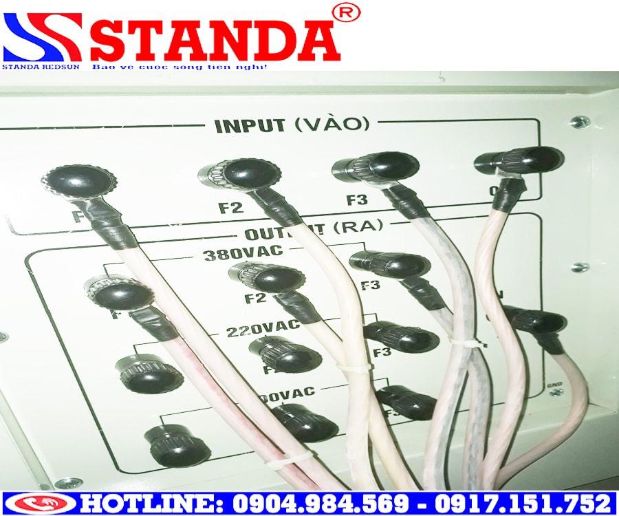 Hướng dẫn lắp đặt ổn áp STANDA