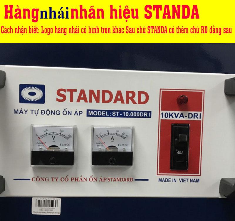 hàng nhái nhãn hiệu Standa