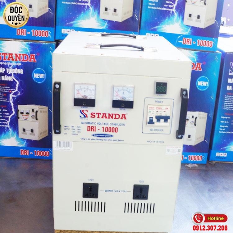 ảnh ổn áp 10KVA điện áp 90V -250V