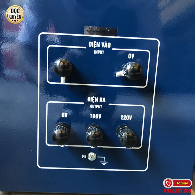 Ưu điểm nổi bật của ổn áp 7.5 kva DRI dải 50V STANDA