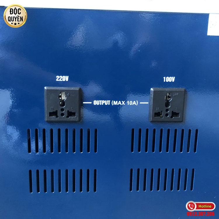 Nguyên lý hoạt động của ổn áp STANDA 10kva dải (150V - 250V)