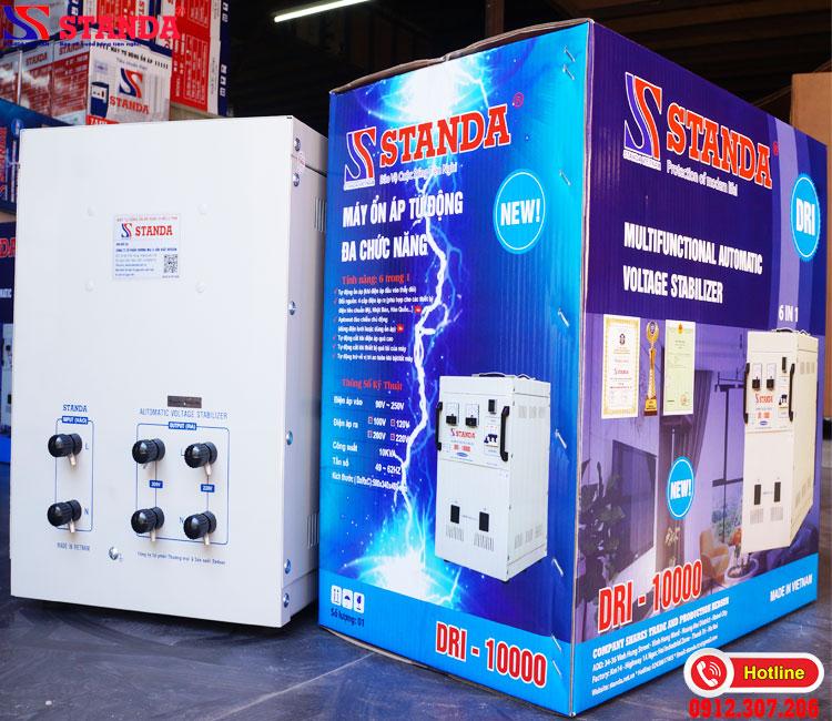 Thử độ bền của ổn áp STANDA 10kva dri