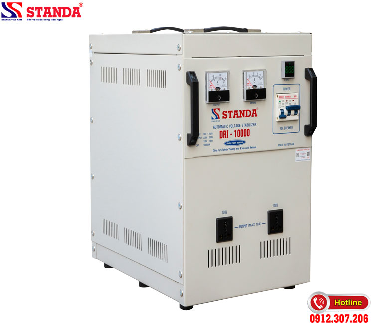 Giá ổn áp sẽ phụ thuộc vào dải điện đầu vào
