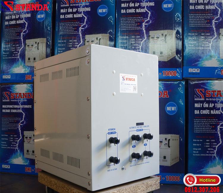 Độ bền của ổn áp STANDA 10kva DRI được khách hàng công nhận