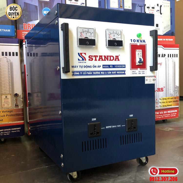 Hình ảnh ổn áp Standa 10KVA DRI dải điện áp 50V