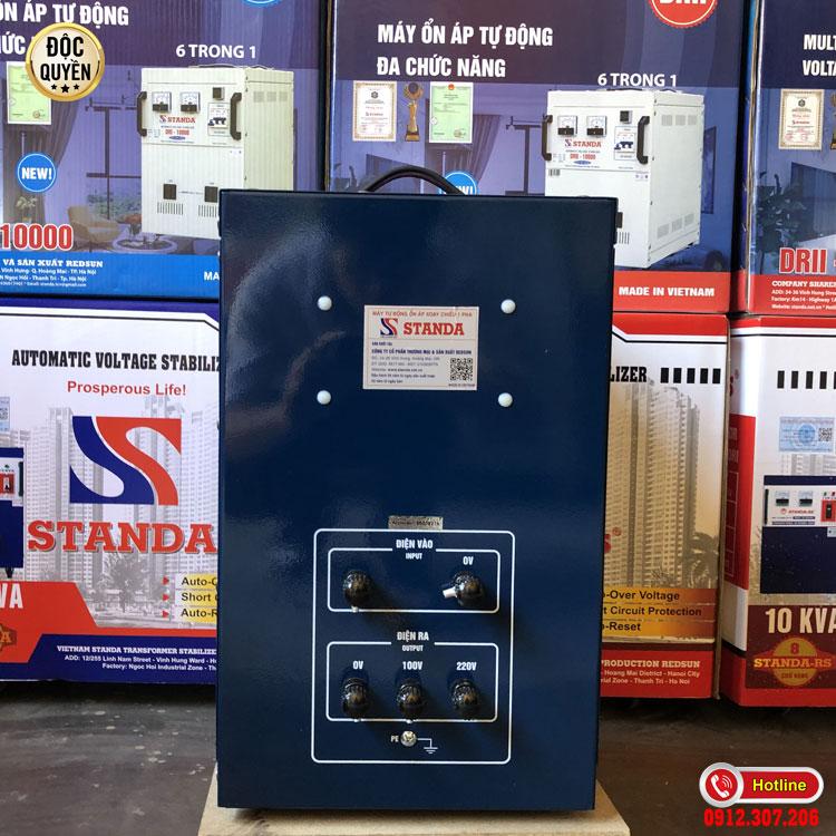 Ổn áp 7.5 kva dri STANDA dải 50V được trang bị nhiều tính năng ưu việt