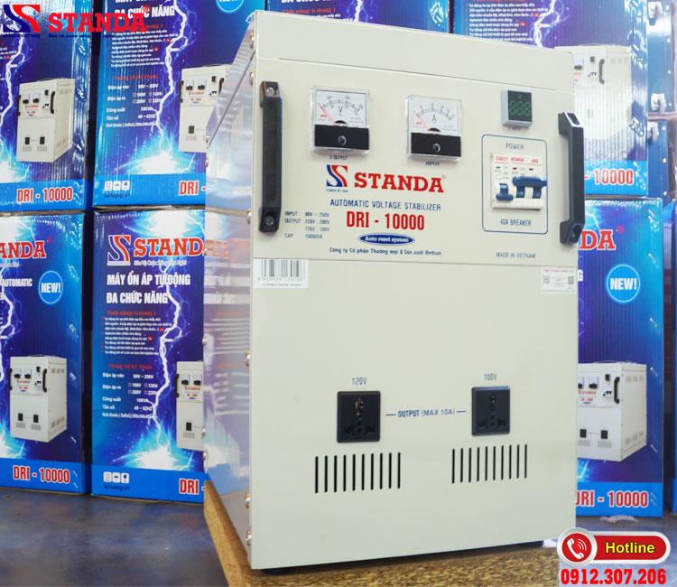 So sánh độ bền ổn áp STANDA 10KVA DRI với các sản phẩm khác