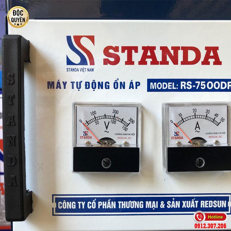 STANDA 7.5KVA dải điện áp 50V có những ưu điểm nổi bật như