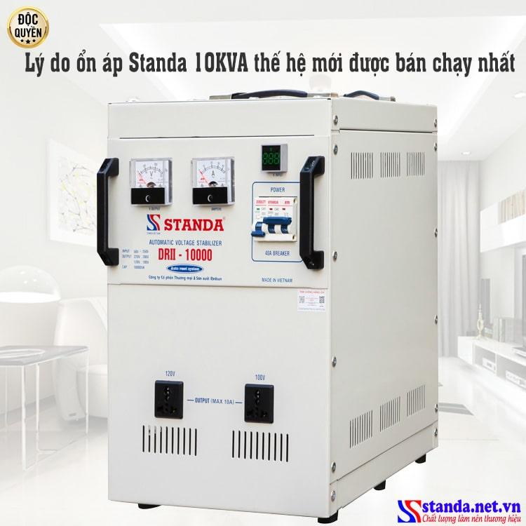 Ảnh lý do chọn ổn áp Standa 10KAV đang được bán chạy nhất hiện nay