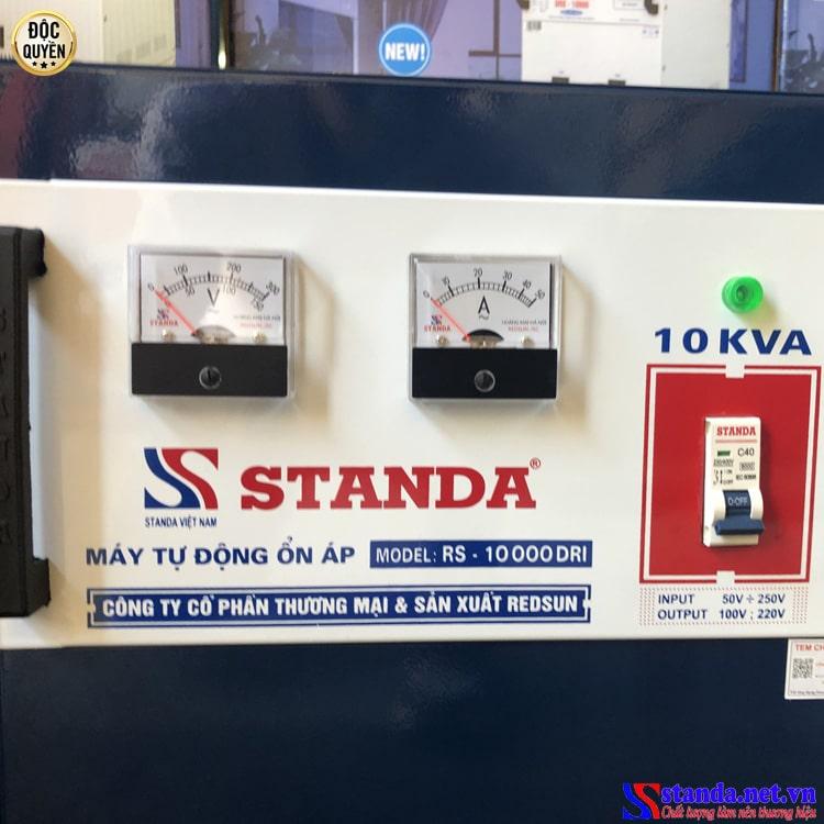 Ổn áp Standa 10KVA DRI dải 50V -250V