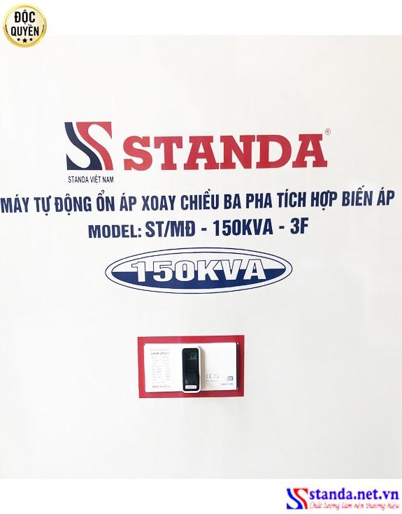 Ổn áp tích hợp biến áp 150KVA dây đồng 100%